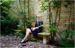 My Playground (Steve Lundqvist) Tags: woman donna ragazza portrait beauty ritratto italy italia grooming groomed posh classy fashion moda glasses sunglasses leica q garden