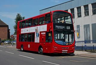Route E8, Metroline, VW1216, LK61BNO