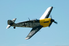 Photo (Rorohiko) Tags: gbwue historic flying ltd hispano messerschmitt ha1112m1l bf109 buchon wanaka warbirds over