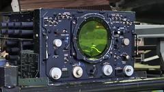 AN/APS-20 S-band search/AEW radar console - RAF Avro Shackleton AEW.2 Cold War patrol bomber.. (edk7) Tags: olympusomdem5 edk7 2017 uk england lancashire greatermanchester manchester manchesterm3 liverpoolroad museumofscienceandindustry msi royalairforce raf avroshackletonaew2 avro696shackletonaew2 c1953 wr960 longrange maritimepatrol airborneearlywarning usnavyprojectcadillac anaps20sbandsearchandearlywarningradaroperatorsconsole hazeltinege fourengine plane airplane aviation aircraft military coldwar museum relic vintage artefact artifact electronic thermionicvalve vacuumtube crt instrument panel knob screen rollsroycegriffonmk58liquidcooled37litre60degreev122450hp