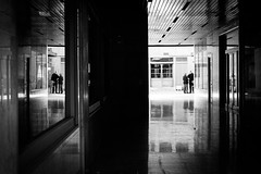 (fernando_gm) Tags: street spain shadow calle callejera city ciudad madrid monochrome monocromo monocromatico blackandwhite bw blancoynegro gente people person persona personas reflejo reflection