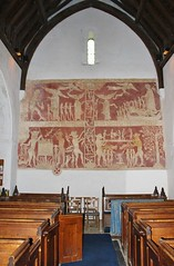 The Chaldon Doom Mural (MedievalRocker) Tags: mural chaldon church doommural