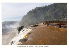 Parque Nacional do Iguaçu - Diaz De Vivar Gustavo (Diaz De Vivar Gustavo) Tags: las cataratas de iguazu del lado brasilero argentina blascataratasdeiguazudelladobrasileroelparquenacionalfuecreadoen1939yadiferenciadelladoargentinoesteparquenacionalcuentaconaproximadamente180000hectáreastresvecesmasqueelargentinocombinadoconelladoargentino