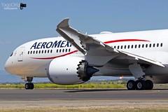 El trazador de sueños... (yagoortiz) Tags: avión aeromexico amx002 am2 xaadh boeing 787 dreamliner barajas adolfosuarez trazador de sueños benitojuárez amx