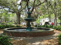Semiquincentenary Fountain in Lafayette Square (Gerald (Wayne) Prout) Tags: semiquincentenaryfountain lafayettesquare historicdistrictsouth cityofsavannah chathamcounty stateofgeorgia usa prout geraldwayneprout canon canonpowershotsx60hs powershot sx60 hs digital camera photographed photography semiquincentenary fountain lafayette square historic district south city savannah chatham county georgia