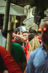 _MG_0080 (sergiopenalvagonzalez) Tags: rcdmallorca futbol football ball people ambiente palma palmademallorca aficion pasion rojo negro ib3 diariodemallorca sergiopenalvagonzalez sergiopenalvag gente emocion nervios ascenso alegria