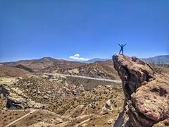 Rocking on the rocks (Sandeep K Bhat) Tags: vasquezrocks hiking
