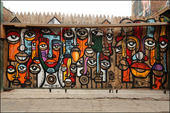 Senzart911 (Alex Ellison) Tags: eastlondon shoreditch urban streetart boobs
