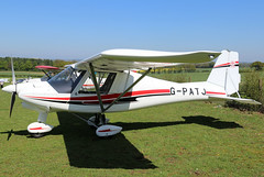 G-PATJ (GH@BHD) Tags: gpatj comcoikarus c42 ikarus comcoikarusc42fb100bravo pophammicrolighttradefair2018 pophamairfield popham aircraft aviation microlight