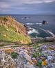 Jun 03 2018 - Lizard Point (AKA Semwez) Tags: atlantic lizardpoint quadrant manofwar cliffs cornwall cowslips headland landscape ocean rocks sea seascape lichen longexposure
