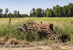 Farmall (will139) Tags: tractors farmall tractor ruralindiana rust