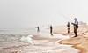 Fog Blankets Martha's Vineyard Surfcasters (John Piekos) Tags: sand marthasvineyard wasque water surf sony edgartown rx100 surfcasting beach ocean chappaquiddick fishingrod fish waders summer fishing