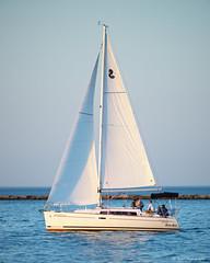 Sailing on Lake Michigan (dpsager) Tags: chicago dpsagerphotography illinois lakemichigan metabones