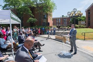 May 25, 2018 Walter Reed Groundbreaking