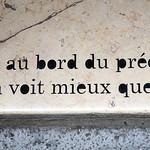 Words on pavement by Petite Poissone [Lyon, France] thumbnail
