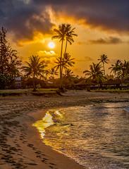 Sunrise Silhouette (Thanks for 1.5 million views) Tags: poipu kauai hawaii beach
