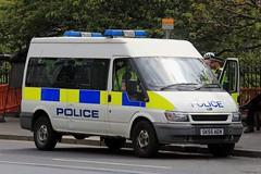 Police Scotland Ford Transit Personnel Carrier (PFB-999) Tags: police scotland ps ford transit minibus personnel carrier van vehicle unit lightbars rotators beacons sk55aen edinburgh