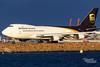 N583UP 5X B747F 16R YSSY-1258 (A u s s i e P o m m) Tags: mascot newsouthwales australia au ups 5x boeing b747f syd yssy sydneyairport goldenhour