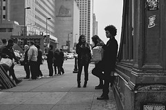 (Kenctures) Tags: bw street streetphotography bnwcaptures ifyouleave kenctures chicago chicagojpg