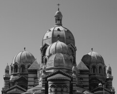 (Karsten Fatur) Tags: bw blackandwhite history architecture church france marseille travel travelphotography europe landmark