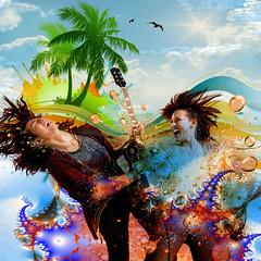 Rocking the hair (jaci XIII) Tags: festa música praia pessoa mulher homem beach music party woman man person