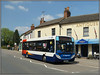 36211, Weedon (Jason 87030) Tags: village highstreet froadside bec weedeon antiques shop sunny light enviro 86 2018 roadside sony ilce alpha a6000 nex lens tag 36211 d1 rugby northampton daventry northamptonshire northants kx60lht clouds flags weather weekend may unitedkingdom shops publictransport branded