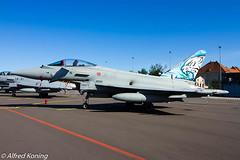 Eurofighter, MM7322/36-40, Italië (Alfred Koning) Tags: ef2000 ef2000typhoon eppopoznańlawica italië locatie mm73223640 poznańairshow vliegtuigen