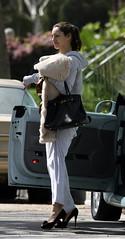 set (antoniusbudyono11) Tags: losangelesca california usa highheels black bag leather hoodedtop