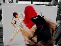 Rambla (Ecinquantotto ( + 1.468.000 views !!! GRAZIE) Tags: barcelona barcellona colori colors españa spagna spain d3000 corrida bn bw blackwhite nikon rambla