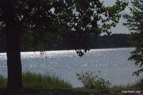 Шацький Національний Природний Парк Озеро Пісочне  Блиск сонця в воді InterNetri  Ukraine 110