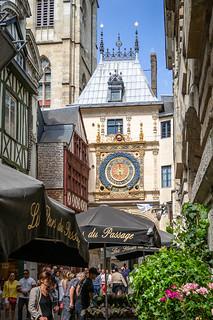 Gros Horloge (Great Clock), Rouen