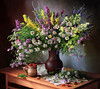 Still-life with wildflowers and berries (Tatyana Skorokhod) Tags: stilllife fieldflowers berries bouquet decor indoors