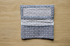 Inside of Fabric Checkbook Cover (osiristhe) Tags: nikond5100 18200mm quilting sewing needlework