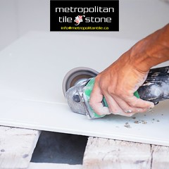 Metropolitan Tile & Stone (Metropolitan Tile) Tags: tile worker cutting construction tool grinder building angle work hand industry material ceramic using home tiling architecture equipment men rock activity circular portable craftsman trimming granito electric white stone object site cut floor flat blade builder installation trims laying decoration decorative