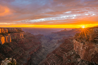 Cape Royal Overlook Grand Canyon Sunset Scenery Landscape Photography! North Rim Grand Canyon National Park Scenic Vista Breaking Thunderstorm Colorful Clouds  View!  Nikon D810 & AF-S NIKKOR 14-24mm F2.8G ED Nikon Lens!