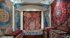 Grand Bazaar, Tehran (Ninara) Tags: grandbazaar tehran iran bazaar carpet rug ravarcarpet kermancarpet flower persiancarpet