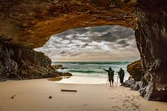 Agua Liques. (Pedro López Batista) Tags: fuerteventura canarias canaryislands canon cave islascanarias 7d sea rocas rock cueva playa