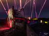 plaza de toros abandonada (CucoRomero) Tags: lightpainting luces largaexposicion longexpo longexpesure linterna pirotecnia nocturna night noche toros plaza color urbex abandoned