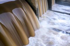 Hochwasser an der Schleuse (doerrebachtaler) Tags: mettlach saar schleuse hochwasser