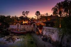 Sunset on Harambe (TheTimeTheSpace) Tags: waltdisneyworld disneyworld disney animalkingdom sunset harambe portofharambe eastafrica nikond810 nikon142428