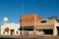 Burkburnett Texas (dangr.dave) Tags: architecture burkburnett downtown historic texas tx wichitacounty watertower