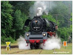 Buckower KB - 2018-10 (olherfoto) Tags: bahn eisenbahn kleinbahn museumsbahn buckowerkleinbahn dampf dampflok dampfzug buckow vasut rail railway railroad steam train steamtrain