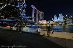 i Light Marina Bay  - 06. EVERGREEN - Limelight (Hungary) Mar '18 (knowenoughhappy) Tags: singapore marina bay march mar 2018 light ilightmarinabay ilight limelight hungary twilight dusk blue hour evergreen