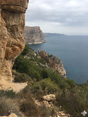 2018 - The Wow-factor (Eszter on Adventure) Tags: 2018 spain nature hiking adventure travelling exploring bluesky bluesea mountains beach playa view cliff barranco mountionguides