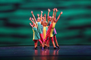 🌈 Young Tap Dancers Colorful Delight