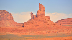 Navajo homestead in Monument Valley (M McBey) Tags: monumentvalley red nacajo home desert d7100