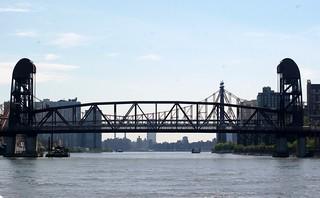 Roosevelt Island Bridge & Queensboro Bridge