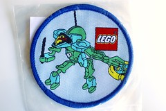 Slizers woven patch (BF Bricks) Tags: lego ephemera collectible patch sew embroidered 90s 80s