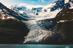 Glacier Bay (- Anthony Papa -) Tags: glacier bay alaska mountains ice snopw scenery scenic landscape clouds ocean water boat cruise ship iceberg cold america usa united states canon anthony papa 5dmkii