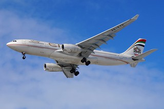A6-EYR Etihad Airways Airbus A330-243